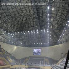 Großes Gymnasium Raum Rahmen Struktur Dachdecker