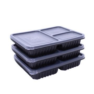 Пластиковое отделение для приготовления еды Ланч-бокс для хранения продуктов
