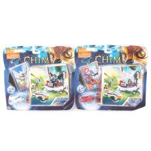 CHIM с игрушками из кирпича с блистерной картой