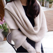 Latest Design Ladies Casual Knitting Poncho for Winter /Autumn