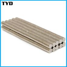 Alta calidad fuerte NdFeB imán con forma de cilindro