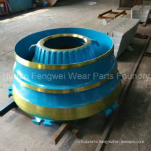 High Quality Cone Crusher Parts with ISO Certification