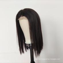 130% 150% 180% Wholesale 4x4 Lace Closure Wig Vendors, 100% Cuticle Aligned Wig 4x4 Closure Natural Straight Human Hair Wigs