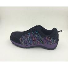Flyknit tecido segurança trabalhando sapatos com Cap Toe composto projetado novo (16063)