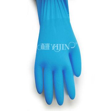 OEM acepta guantes de nitrilo sin látex sin polvo