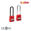 Lockey 76mm Plastic Shackle Safety Padlock