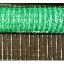 Knitted anti bird netting mesh