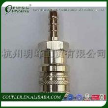 Schnelle Verbindung von Kupfer-Nickel-Rohrfittings