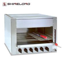 2017 hochwertige edelstahl küche ausrüstung gas salamander