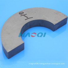Ceramic Round c shaped ferrite magnets