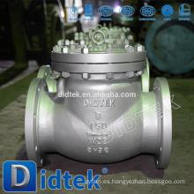 Válvula de retención de acero inoxidable de alta calidad Didtek