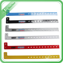 Factory Custom Promotional Gift Colorful Fashion Vinyl Wristbands