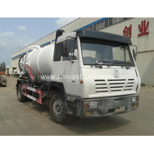 SHACMAN 12Ton Vacuum sewage suction truck