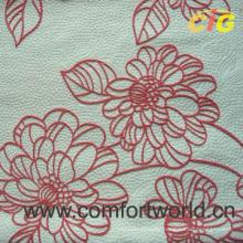 Microfiber Flock Sofa Fabric (SHSF04230)