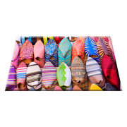Warna-warni dicetak pintu mat