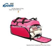 bolsa de viaje de fin de semana con compartimento para zapatos