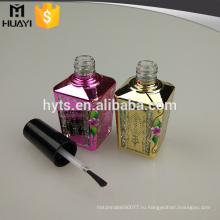 UV покрытие изготовленный на заказ уникально пустой большой бутылки лака для ногтей бутылки