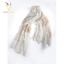 Peso ligero Spring Silk Solid Bufanda de algodón