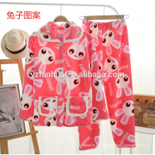animais meninas impressão confortável pijama macio
