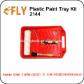 Plastic Tray Kit roller brush set