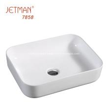 Promotion bathroom accessories ceramic art basin