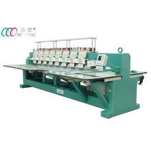 Industry Flat Embroidery Machine with 8 heads for garment