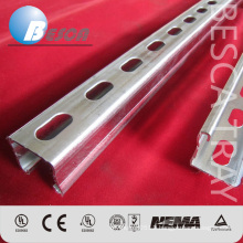 Unistrut Manufacture HDG Electrical C Strut Channe Bracket Supplier