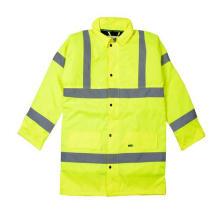 Sicherheits-Parka-Jacke mit hoher Sichtbarkeit, Meet En (DFJ1019)
