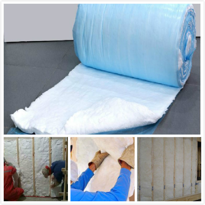 Formaldehyde Free Glass Wool Insulation Material