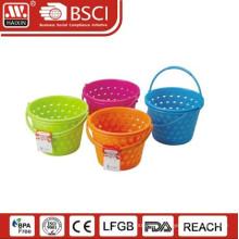 popular plastic handy basket