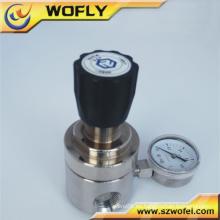 316 regulador de presión de agua de gas natural de acero inoxidable