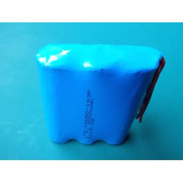 3.7 volt rechargeable lithium battery pack
