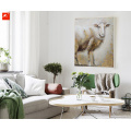 Cute Sheep and Cow Decorative Canvas Prints