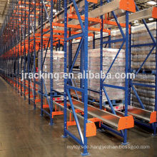 pallet racking auction,Jracking cold storage Radio shuttle racking, storage racking