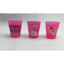 Pink Shot Glass, Neon Color Shot Glass