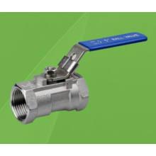 1 robinet à tournant sphérique fileté en acier inoxydable 1000wog (Q11F)