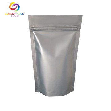 Laminated Foil Zipper Snack Packaging Stand Up Bags