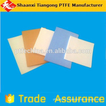 flameproof orange plate ptfe sheet