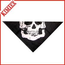 Bandana da máscara do triângulo do algodão da forma das alfândegas