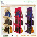 6 Pockets big Capacity Handbag Organizer Collection Handbag File