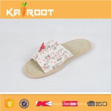 summer natural linen cheap wholesale house bedroom slippers