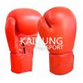 Luvas de boxe de couro