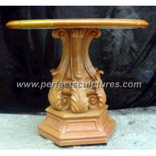Antique Stone Marble Garden Table for Garden Decoration (QTB020)