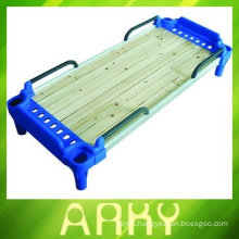 Kindergarten Wooden Single Bed