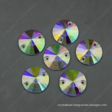 Ab Round Garment Beads Glass Stone (DZ-3041)