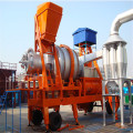Mini Mobile Hot Asphalt Dryer Drum Mix Plant