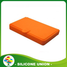 Porte-cartes de Silicone commode Mini coloré