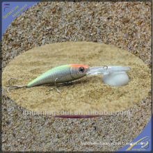 MNL051 11CM/7G fishing lure tackle water snake plastic minnow bait fishing lure minnow