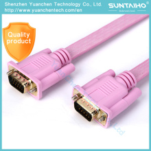 OEM HD 15pins Male to Male VGA Cable for Computer
