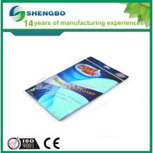 Fácil de limpar tecido 33 * 50 centímetros verde azul